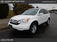 This 2011 Honda CR-V comes with a CARFAX Buyback