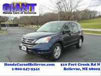 This 2011 Honda CR-V EX is proudly offered by Honda