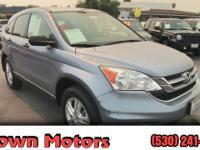 Take command of the road in the 2011 Honda CR-V!