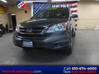New Price! CARFAX One-Owner. Gray 2011 Honda CR-V EX-L