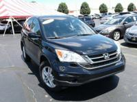 Boasts 27 Highway MPG and 21 City MPG! This Honda CR-V