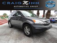 LOW MILES, This 2011 Honda Cr-V EX-L will sell fast