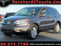 We are excited to offer you this 2011 Honda CR-V EX-L