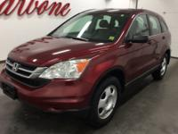 CARFAX One-Owner. Tango Red Pearl 2011 Honda CR-V LX