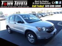 Options:  2011 Honda Cr-V Lx|Four Wheel Drive| Power