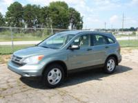 Options:  2011 Honda Cr-V Lx 4 Door Suv|Seafoam