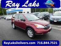 CARFAX 1-Owner. Tango Red Pearl exterior and Gray