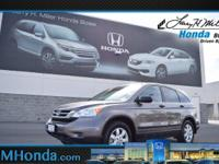 Snag a steal on this 2011 Honda CR-V SE before it's too