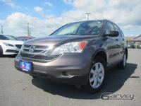 The 2011 Honda CR-V is a crossover SUV that straddles