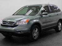 CR-V EX-L, CERTIFIED, LEATHER, and MOONROOF / SUNROOF.