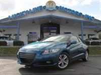 2011 Honda CR-Z !!! For those who wish an appealing,