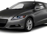 2011 Honda CR-Z EX in Storm Silver Metallic Vehicle