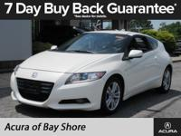 CARFAX 1-Owner. Premium White Pearl exterior and Gray