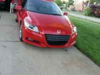 Hello I have a 2011 Honda CR-Z it only has 13k Miles on