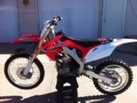 2011 Honda CRF 250 R in excellent condition. This bike