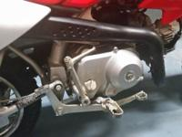 2011 HONDA CRF50 GARAGE KEPT NO RUST BARELY USED GREAT