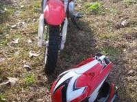 2011 HONDA CRF 50 dirt bike only ridden 4 times on