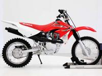 Its the CRF80F and its just. the 80 cc four-stroke