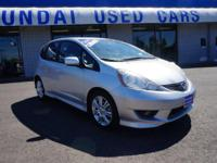 Recent Arrival! 2011 Honda Fit Sport Gray Odometer is