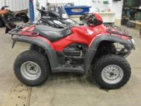 2011 Honda Foreman 4x4 (trx500fm) runs good, body is
