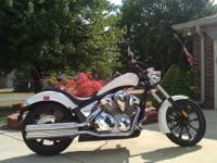 I'm selling a Pearl White 2011 Honda Fury 1300. Bike