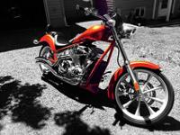 2011 honda fury just over 2500 miles cobra sweep pipes(