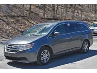 2011 Honda Odyssey EX-L featuring a Power Moonroof,