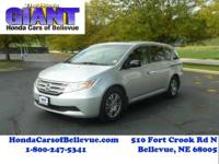 Check out this gently-used 2011 Honda Odyssey we
