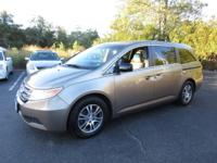 This  2011 Honda Odyssey doesn't compromise function