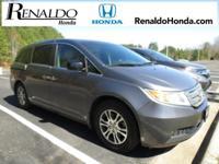 New Price! 2011 Honda Odyssey EX-L Polish Metl Met