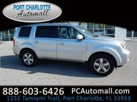 This very well kept 2011 Honda Pilot EX is nice to look