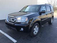 2011 HONDA PILOT EX-L IS A MIDSIZE CROSSOVER SUV. CAN