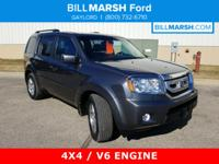2011 Honda Pilot EX-L 4WD Clean CARFAX. Protected by
