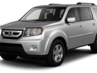 Come see this 2011 Honda Pilot EX-L. It has a Automatic