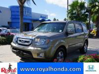 Options:  2011 Honda Pilot Ex-L 2Wd|This Vehicle Has A