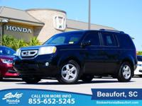 2011 Honda Pilot in Black. Won't last long! Wow! Where