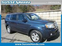 This 2011 Honda Pilot EX-L is offered to you for sale