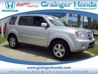 CARFAX 1-Owner. EX-L trim. Sunroof, NAV, Heated Leather