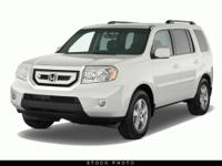 This 2011 Honda Pilot 4dr 4WD 4dr EX-L 4x4 SUV features