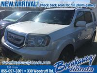 ***Breakaway Honda*** Pilot Touring, Entertainment
