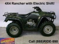 2011 Honda Rancher Electric Shift for sale for only