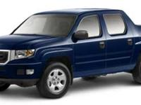 Load your family into the 2011 Honda Ridgeline! A great