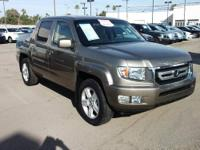 This one owner Ridgeline is ready for delivery and