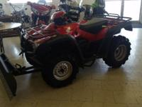 THIS 2011 HONDA TRX500 4X4 HAS NEW TIRES AND A BRAND