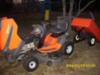 Purchased new in 2011, 23 hp 48 inch cut, tractor has