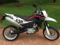Like New 2011 Husqvarna SMS 630 with only 346 miles.The