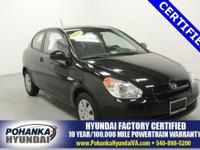 Take a look at this gas-saving 2011 Hyundai Accent if