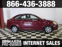 Our 2011 Hyundai Accent GLS is roomy, comfortable,