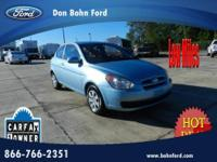 Don Bohn Ford presents this 2011 HYUNDAI ACCENT 3DR HB