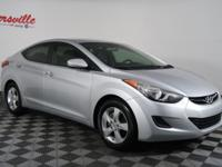 This One Owner Clean CarFax 2011 HYUNDAI ELANTRA GLS